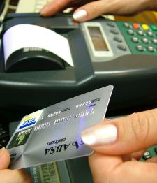 bank charges credit card
